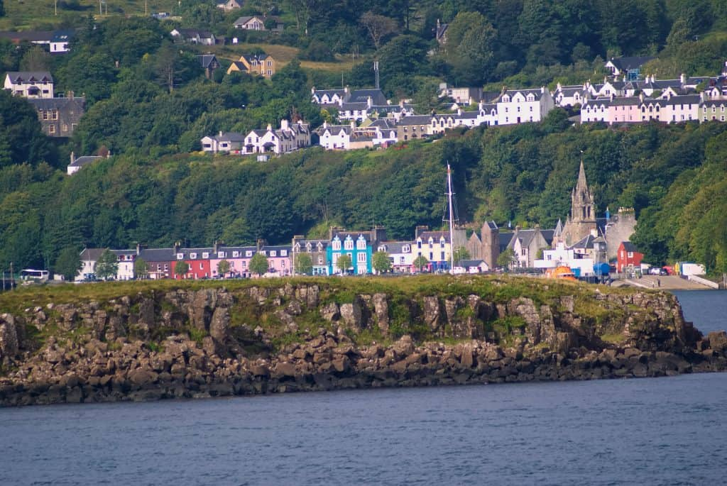 obermory from the Oban to Loch Boisdale ferry