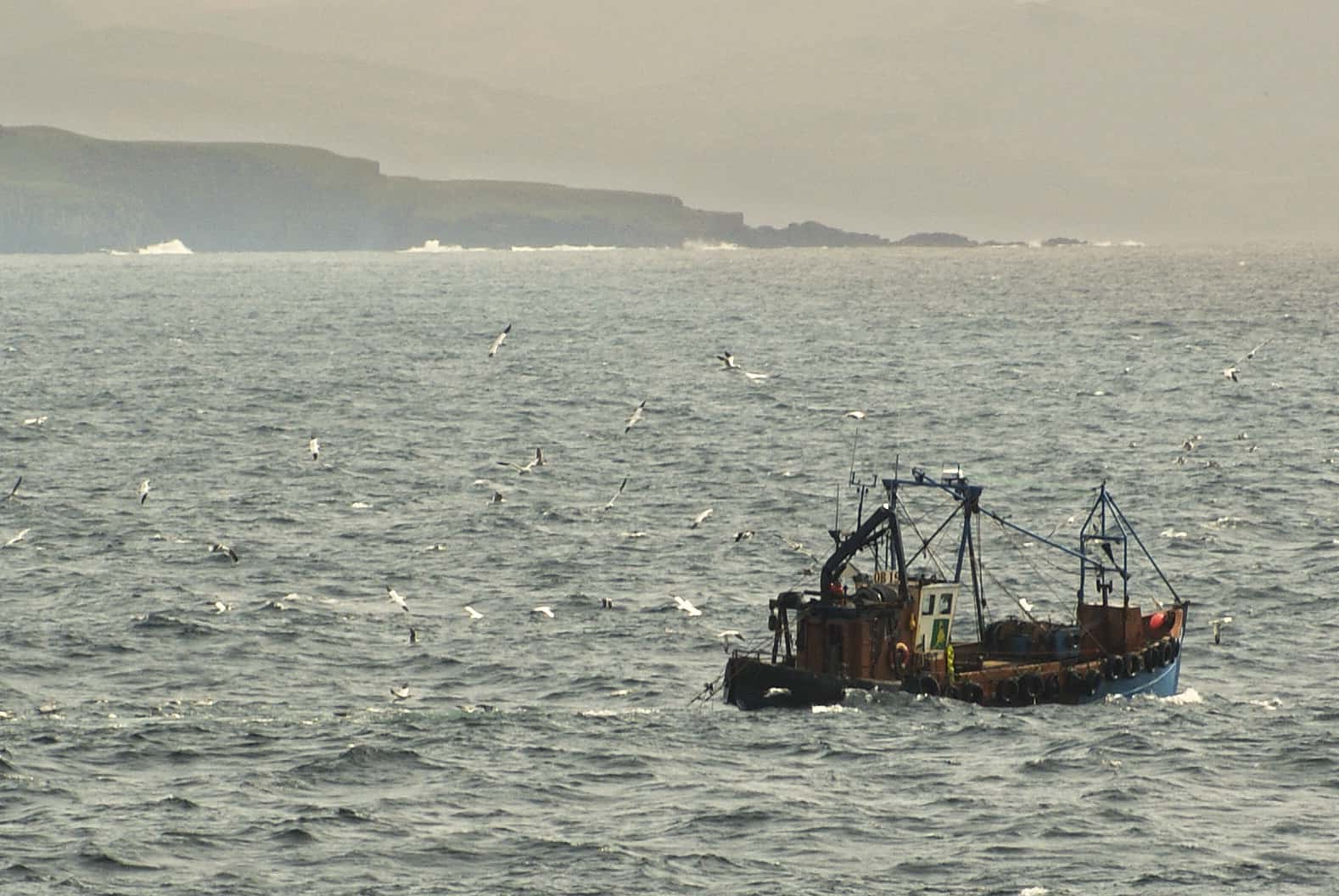 hebrides fishing boat