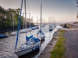 cramond harbour