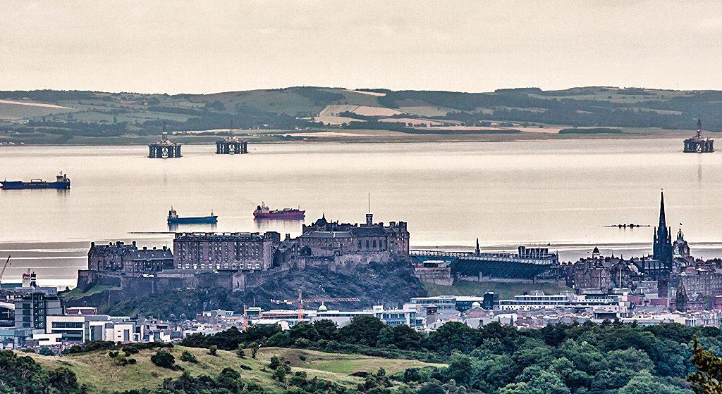 Edinburgh from The Pentland Hills