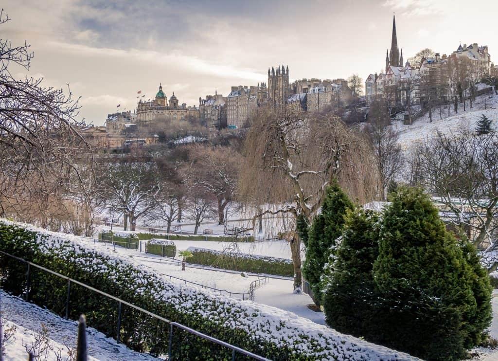 A Snowy Edinburgh