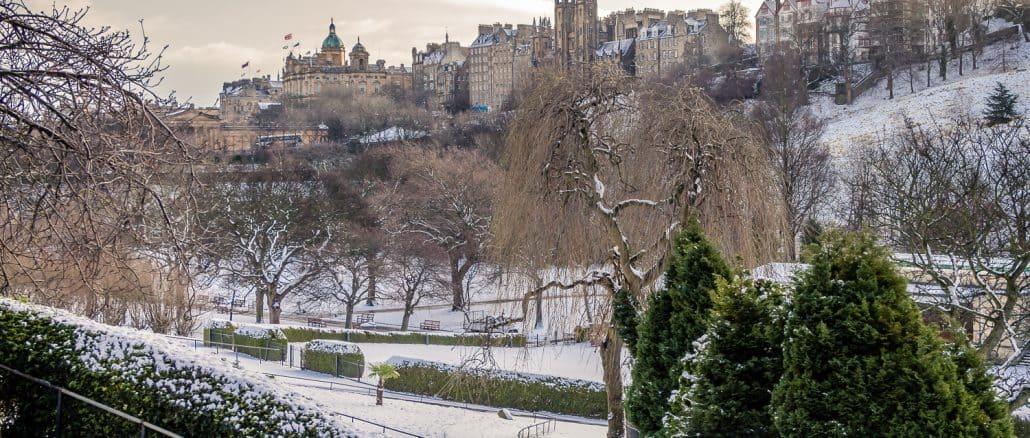 edinburgh snow