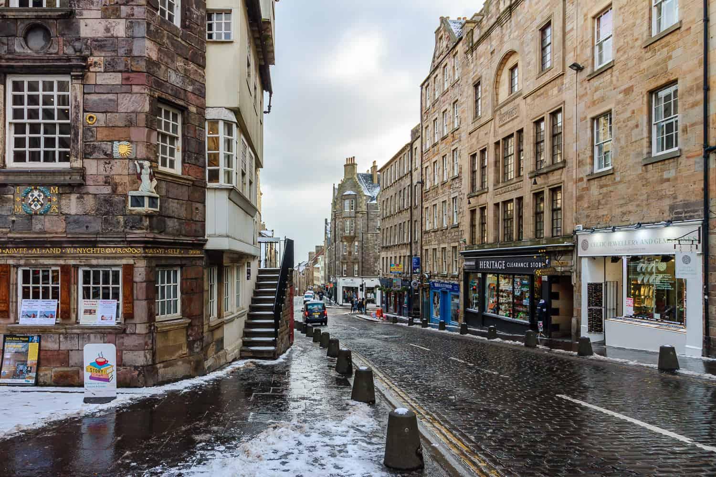 high street edinburgh