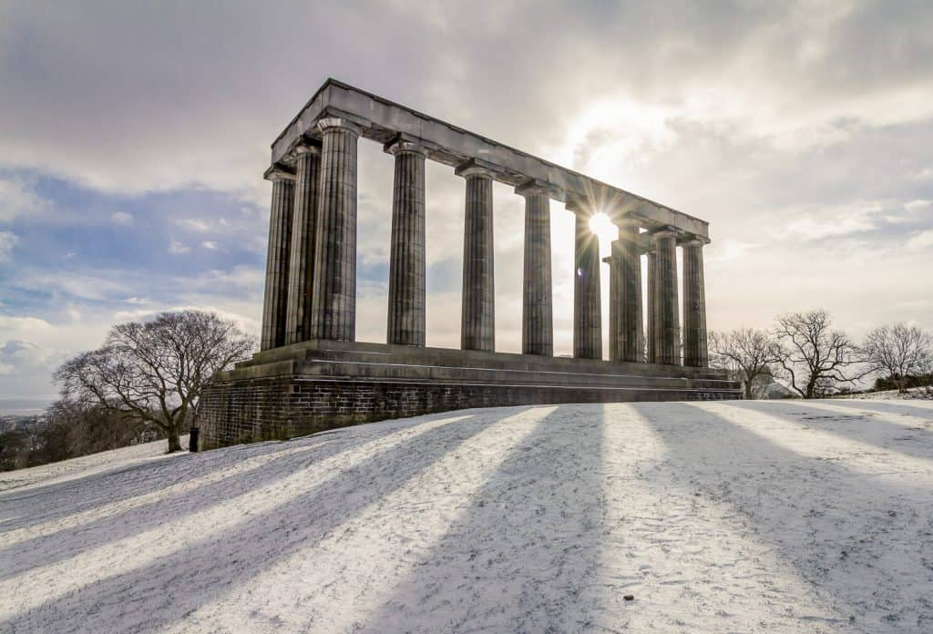 Calton Hill Folly, Edinburgh