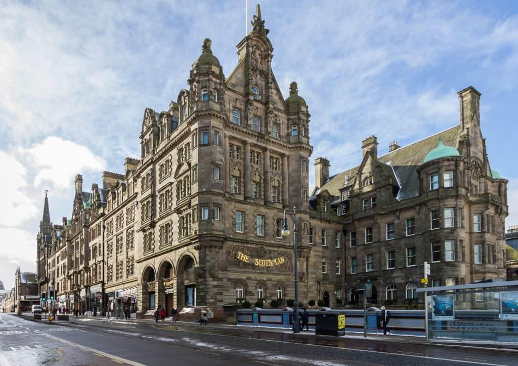 scotsman building edinburgh