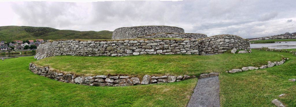 The Broch of Clickimin