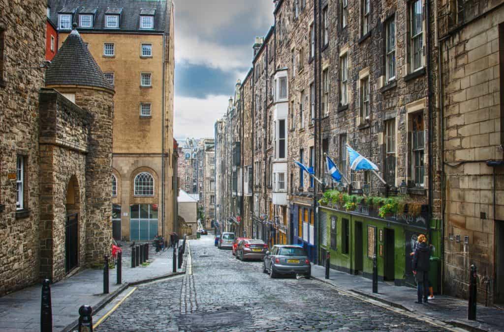 The High Street Edinburgh