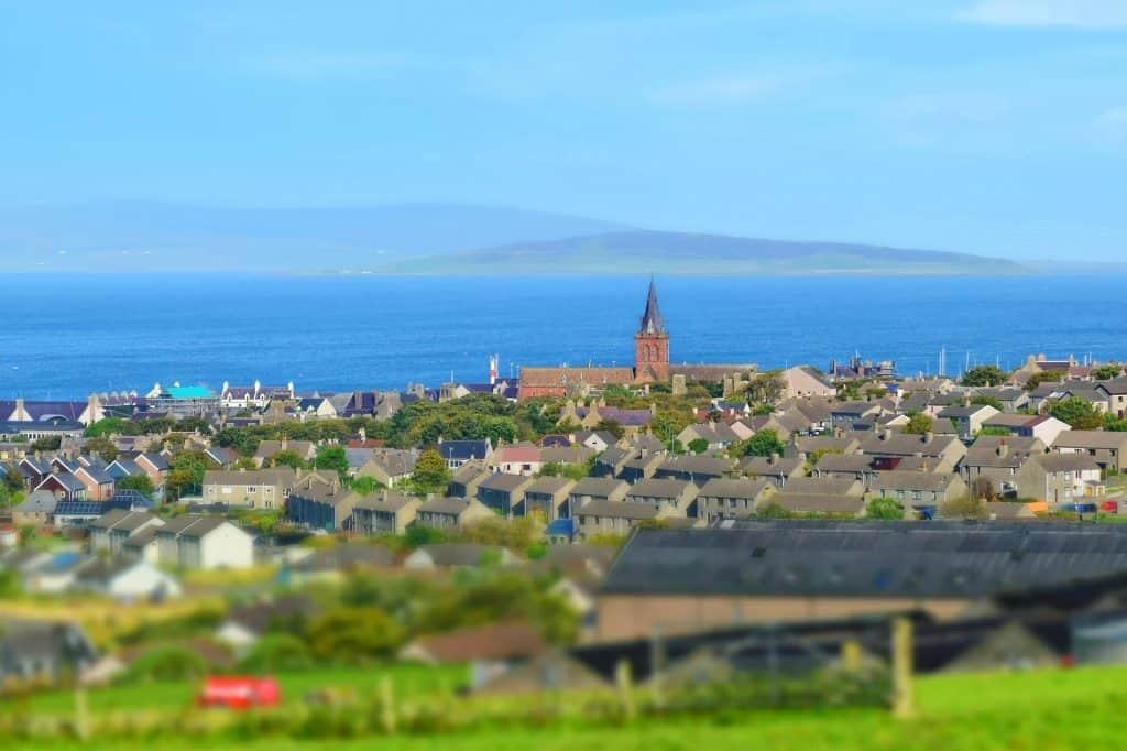 Kirkwall on Orkney