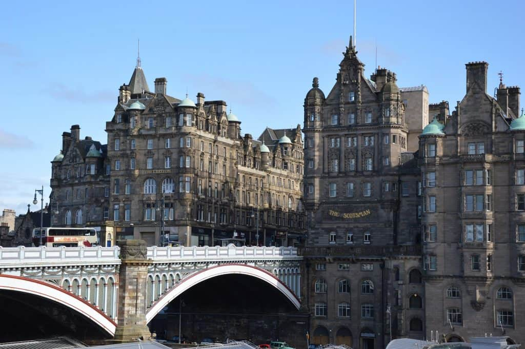 The North Bridge, Edinburgh