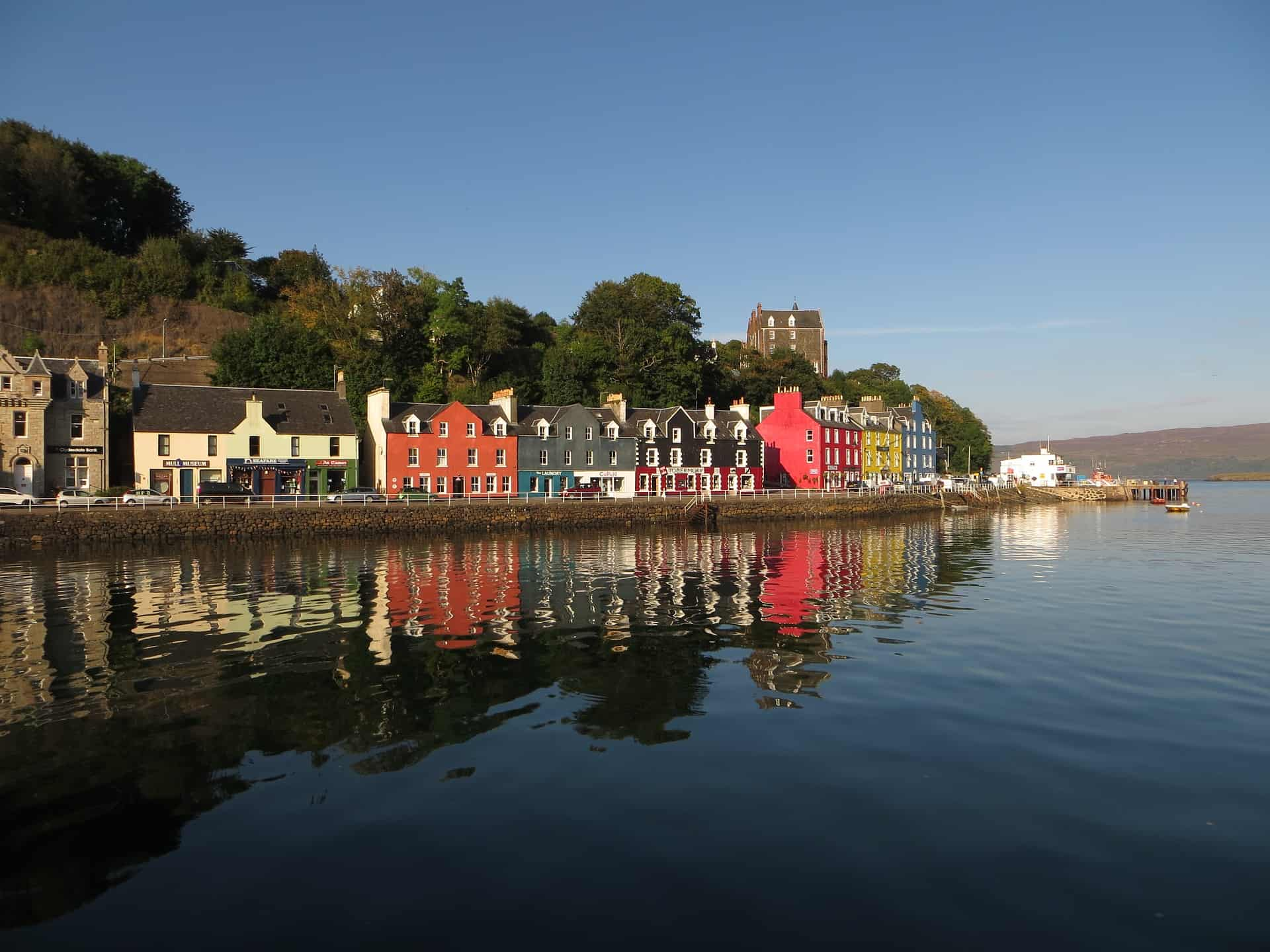 Tobermory - with its instantly recognisable painted houses
