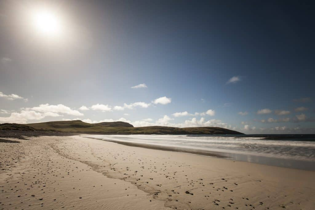 A Hebridean Beach on Vatersay