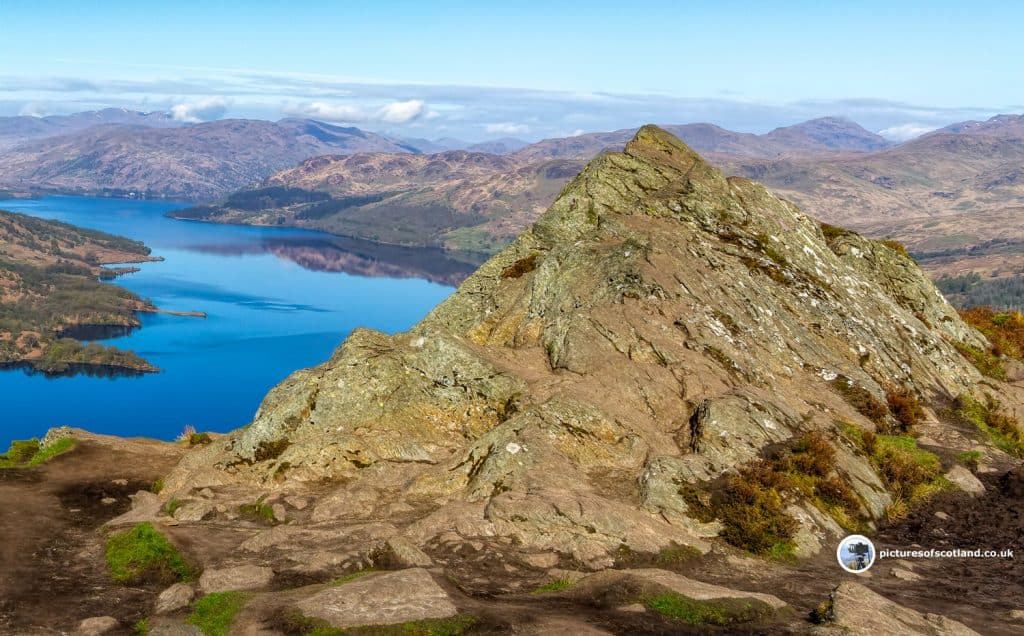 Loch Katrine from the Summit of Ben Aan