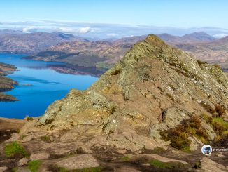 Loch Katrine from the Summit of Ben Aan