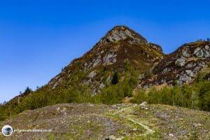 First sight of the Ben Aan peak