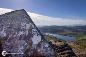 Loch Achray from the Summit of Ben Aan