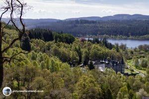 Looking back over Loch Achray - Ben Aan
