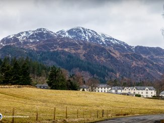 Ben Venue from the main road
