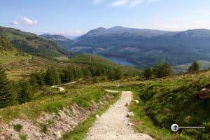 Loch Lubnaig from Ben Ledi