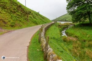 Follow the road back to Flotterstone