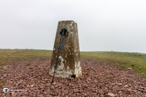 The summit of Scald Law