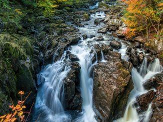 Black Linn Falls