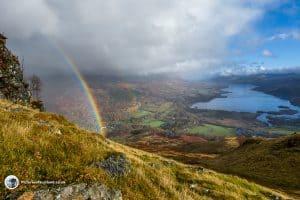 Sron-a'Chlachain Rainbow