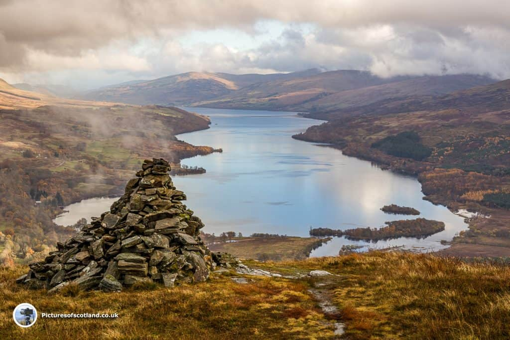 Loch Tay from Sron-a'Chlachain