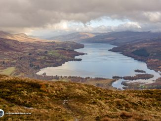 Loch Tay from Sron a'Chlachain