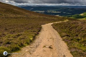 The path to the foot of Ben Vrackie