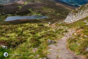 The path up Ben Vrackie