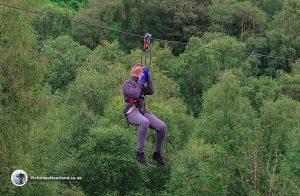 Go Ape Zip Wire Aberfoyle
