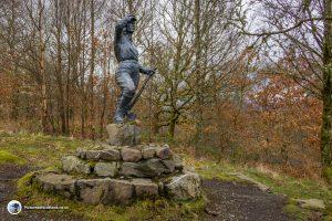 The Lumberjills statue