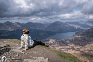 The View from The Summit of Ben Lomond