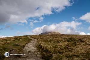 The final push to the Ben Lomond Summit