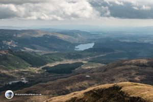 Loch Ard from Ben Lomond
