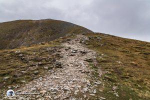 The Final Climb on Ben Vorlich