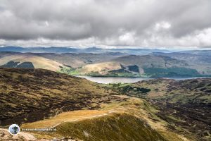 View from the top of Ben Vorlich