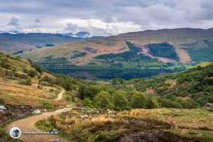 The View Back Down To Loch Earn
