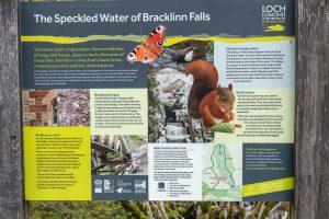 Bracklinn Falls Information