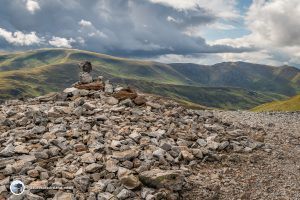 Summit of Carn Aosda