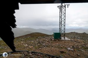 The Cairnwell summit
