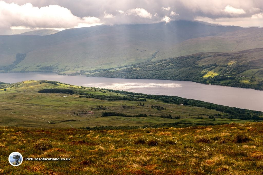 Loch Tay from Meall Nan Tarmachan