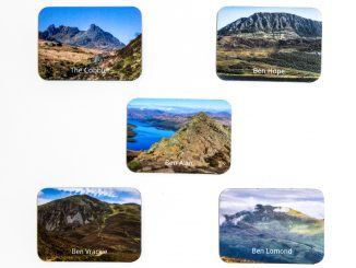 Scottish Mountain Fridge Magnets