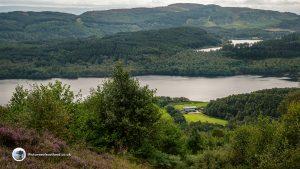 Loch Venachar and Loch Drunkie