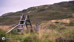 Cross the stile to reach the summit of Stuc Odhar