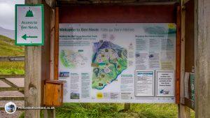 Ben Nevis Information Board