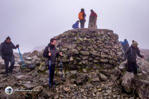 The summit of Ben Nevis